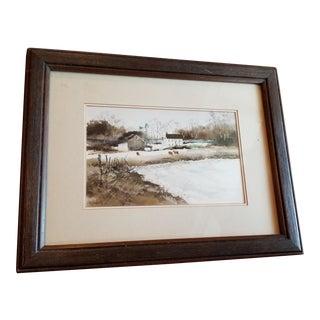 Gene Dougherty Oklahoma Painting For Sale