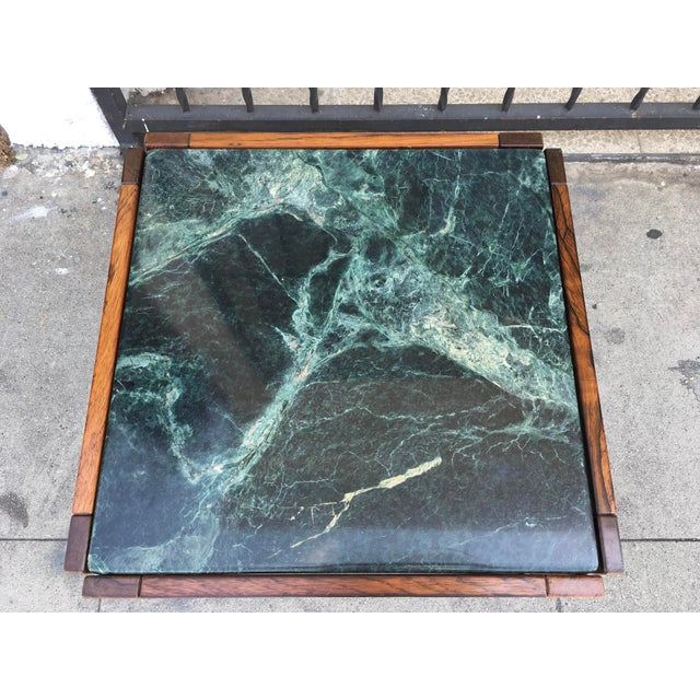 Verde Green Marble Top Side Table - Image 6 of 10
