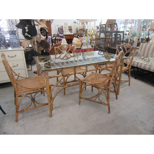 Italian Deutch Chippendale Dining Set - 5 Pieces For Sale - Image 10 of 10
