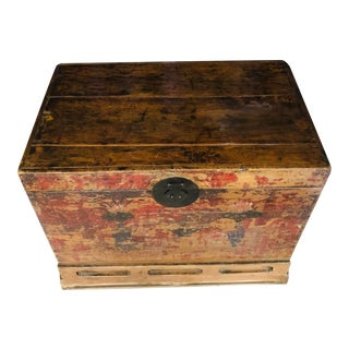 Vintage Ming Trunk-Chest For Sale