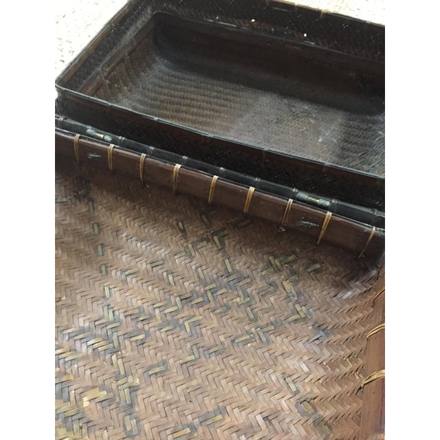 Mid 19th Century Antique Storage Basket For Sale - Image 10 of 12