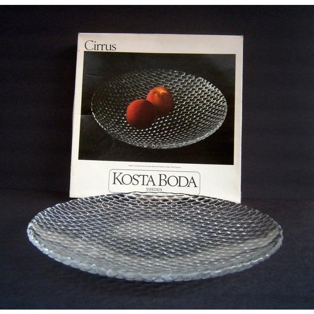 Kosta Boda Cirrus Large Serving Platter Plate - Image 4 of 4