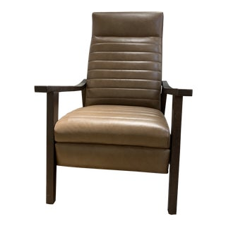 Modern Lee Leather Chair For Sale
