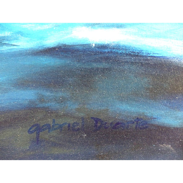 """Argentine Artist Gabriel Duarte Nautical Painting """"New Bounty"""" For Sale - Image 9 of 11"""