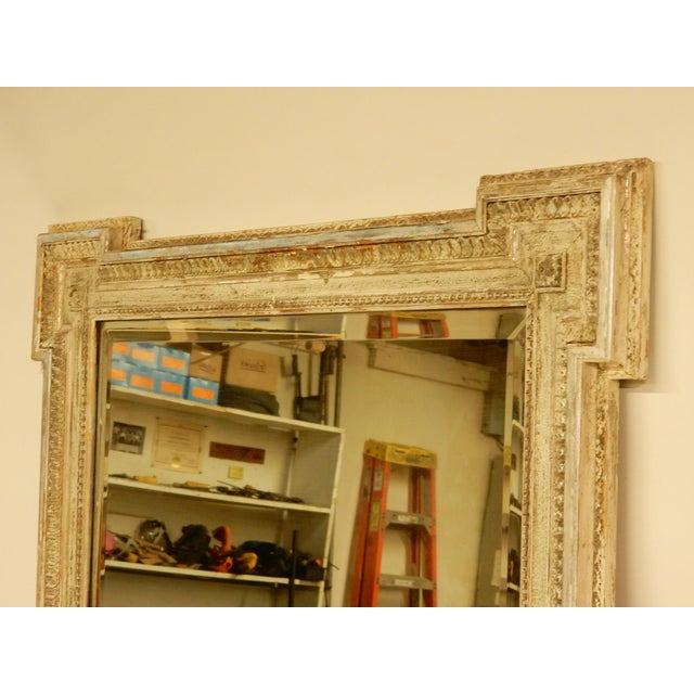 Glass 19th C Louis XVI Mirror For Sale - Image 7 of 8