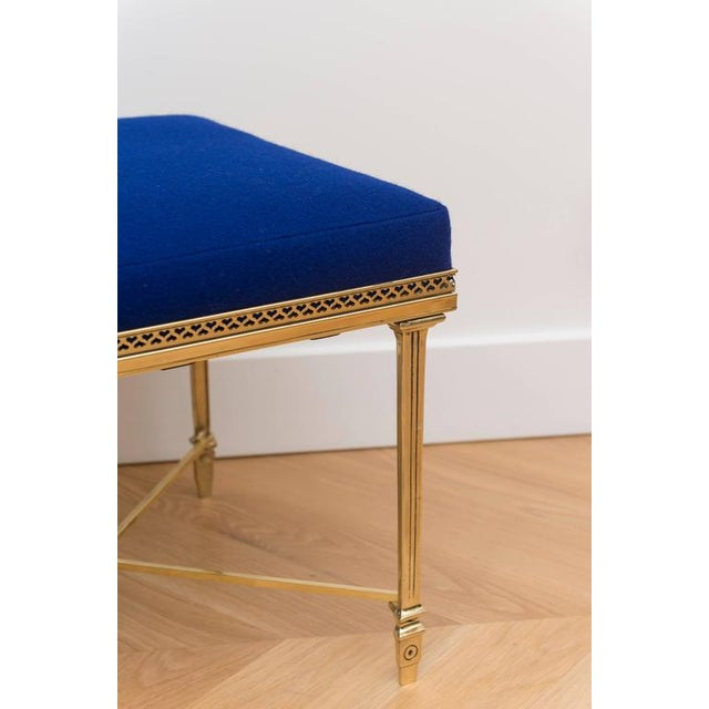 Single Italian Brass Stool - Image 2 of 5