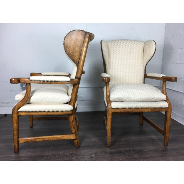 Minton-Spidell English Barber Chairs - a Pair - Image 4 of 10