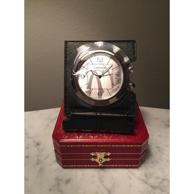 Cartier Travel Alarm Clock - Image 2 of 5