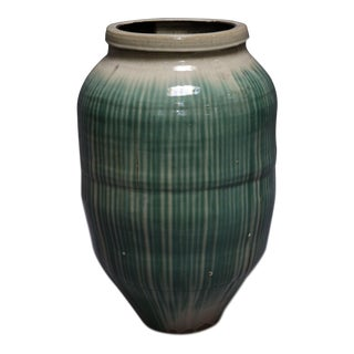 Shigaraki Glazed Ceramic Pot For Sale