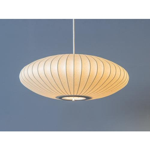 1960s Vintage George Nelson Bubble Lamp For Sale - Image 5 of 8