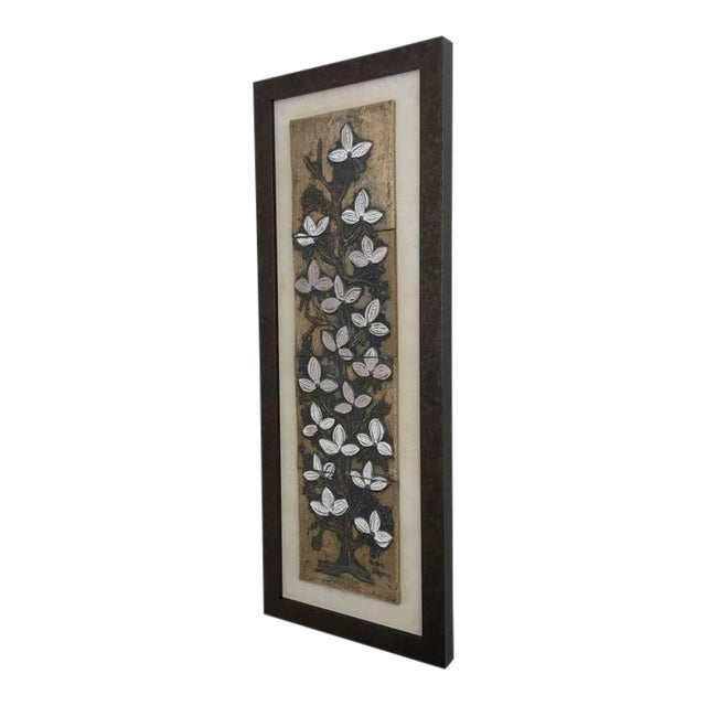 Ceramic Tile Wall Art by Victoria Littlejohn For Sale