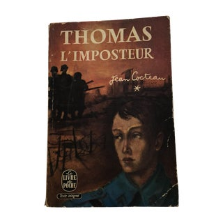 Thomas l'Imposteur Jean Cocteau 1923 Book For Sale