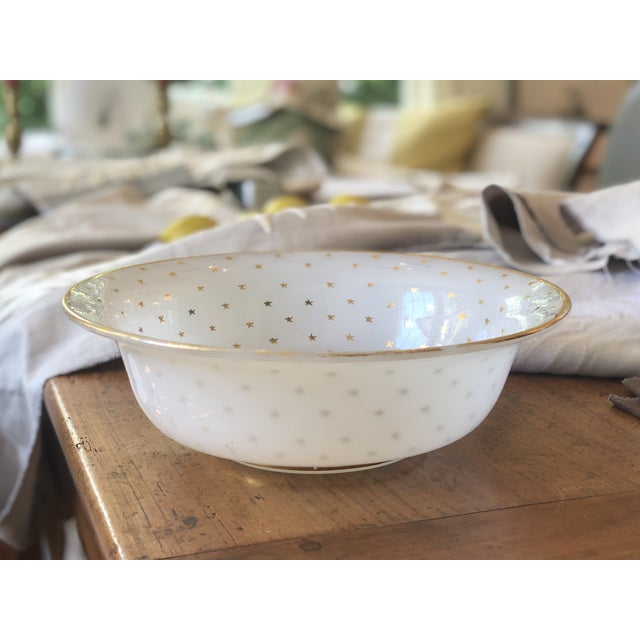 19th Century Vintage French Opaline Glass Bowl For Sale - Image 9 of 9