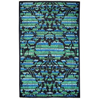 """Arts & Crafts, Hand Knotted Area Rug - 5' 2"""" x 8' 6"""" For Sale"""