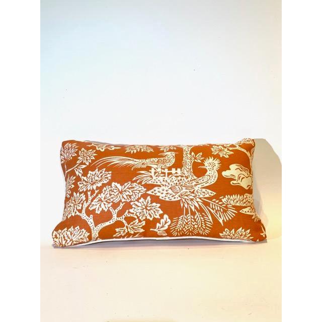 Islamic Turkish Quadrille Print Lumbar Pillow For Sale - Image 3 of 3