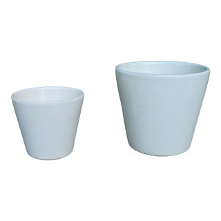 1960's Gainey Style Mid Century Planter-a Pair For Sale