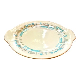 Mid-Century Modern Royal China Atomic Style Serving Platter For Sale