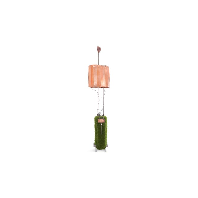 Contemporary Floor Lamp by Belgian Artist Thomas Serruys For Sale - Image 4 of 8
