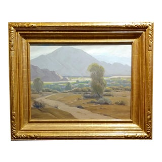 Sam Hyde Harris- Approaching Rain -Important California Impressionist-Oil Painting