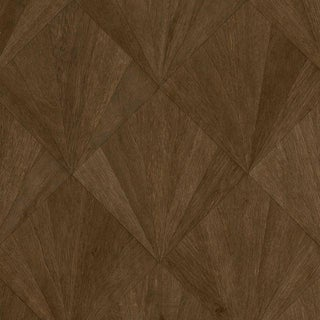 Sample, Ajiro Fanfare Wood Veneer: Cacao - Wood Veneer Wallcovering For Sale