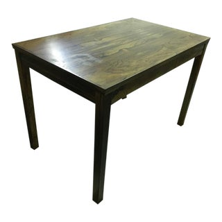 Mid-century Rose Wood Side Table or Small Coffee Table