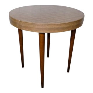 1960's Vintage Thonet Round Side Table For Sale