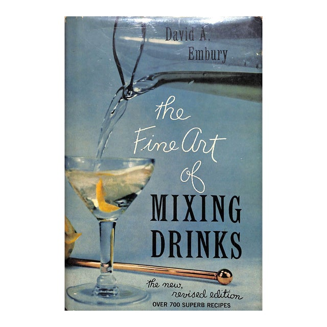 """""""The Fine Art of Mixing Drinks"""" Book For Sale"""