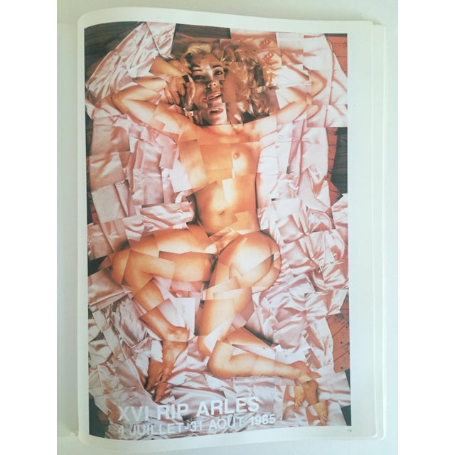 """Boho Chic Vintage 1987 """"Hockney Posters"""" Rare 1st Edtn Extra Large Collector's Art Book For Sale - Image 3 of 11"""