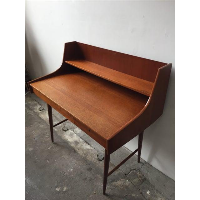 Mid-Century Danish Teak Desk - Image 4 of 11