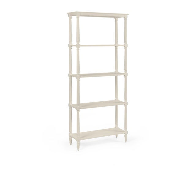 Transitional Walker Etagere, Revere Pewter For Sale - Image 3 of 3