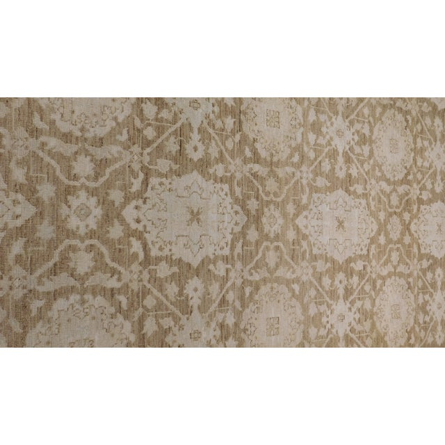 Agra Design Hand-Knotted Luxury Rug - 8′1″ × 9′11″ - Image 4 of 5