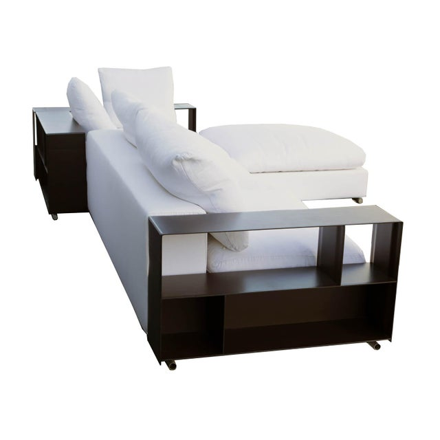 "Flexform ""Groundpiece"" Modular Sofa circa 2015. This is Flexform's most popular sofa and retails for $27,000. Groundpiece,..."