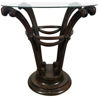 Elegant Art Deco Plume Form Table by Grosfeld House For Sale