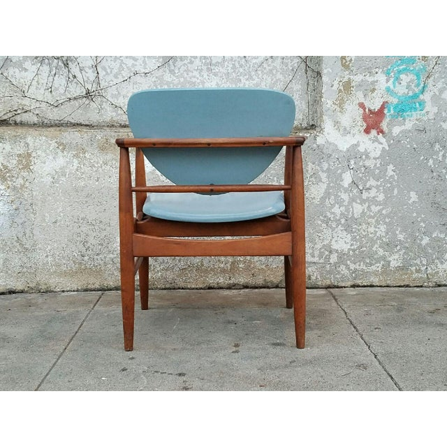 Mount Airy Finn Juhl-Style Vintage Chairs - A Pair - Image 6 of 7
