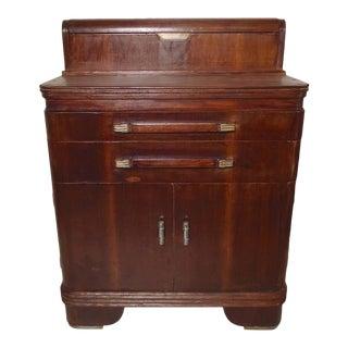 Vintage Deco Dental Cabinet For Sale