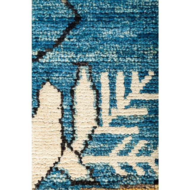 """New Hand Knotted Area Rug - 8'1"""" x 9'10"""" - Image 3 of 3"""