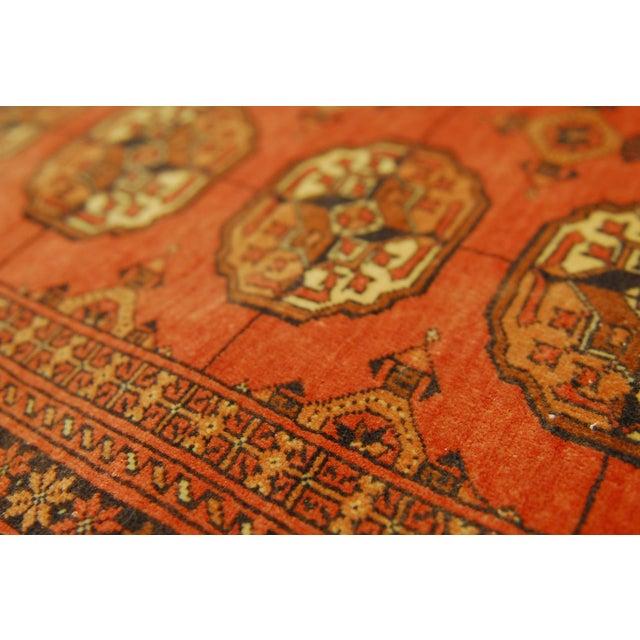 """Vintage Turkoman Tekeh Rug - 4'1"""" X 6'9"""" - Image 5 of 5"""