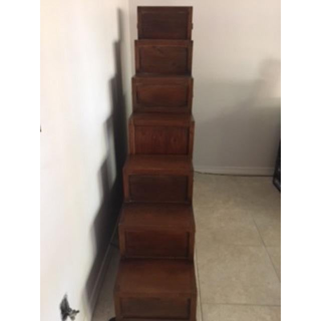 Korean Tansu Step Chest For Sale - Image 5 of 5