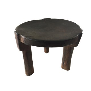 """Old Tanzanian Milk Stool Hehe Gogo 10.5"""" H For Sale"""
