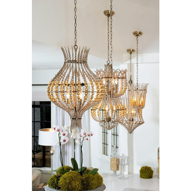 Aidan gray grand onion gold chandelier chairish aidan gray grand onion gold chandelier mozeypictures
