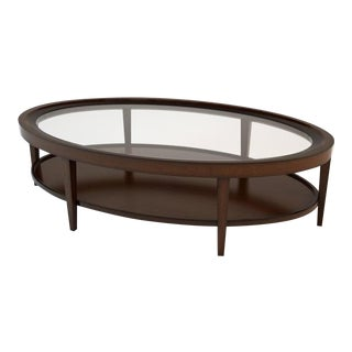 Transitional Barbara Barry for Henredon Cabochon Coffee Table