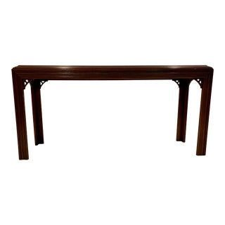 Chinoiserie Lane Style Entryway Table For Sale
