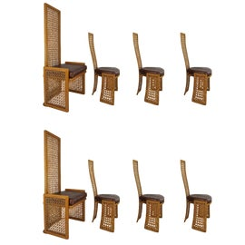 Image of Rattan Dining Chairs