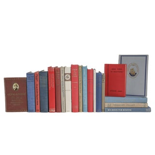 Olde New England Book Set, (S/20) For Sale