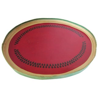 Vintage Watermelon Tray