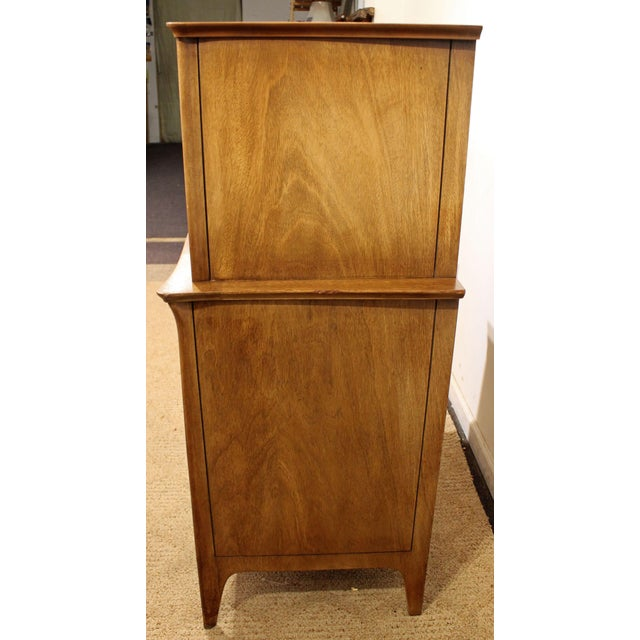 Mid-Century Danish Modern Drexel Dateline John Van Koert Tall Chest - Image 5 of 11