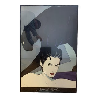 1980s Patrick Nagel Lithographic Poster For Sale