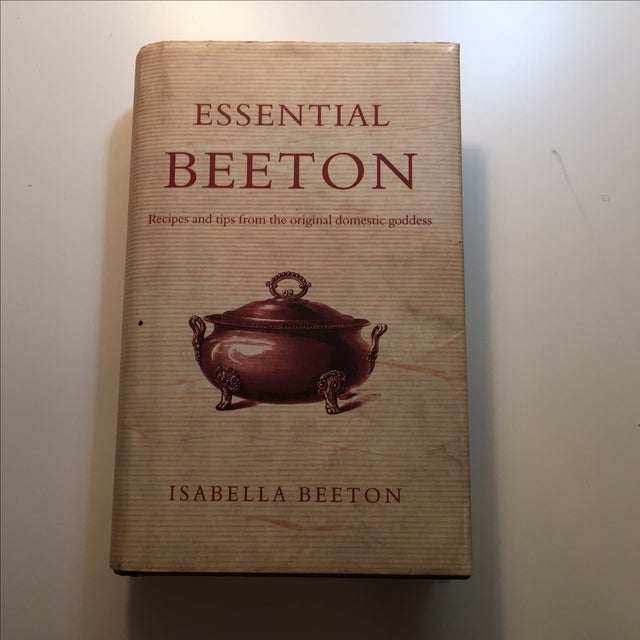 Essential Beeton Cookbook by Isabella Beeton. 2004 hardcover with dust jacket. 320 pages with illustrations. Even tips as...