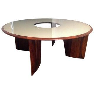 1960s Tenreiro Brazilian Dining Table for Eight For Sale