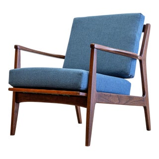 Mid-Century Modern Lounge Chair by Baumritter For Sale